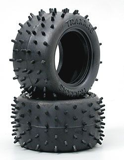 Tires, low-profile spiked 2.2 (2) *