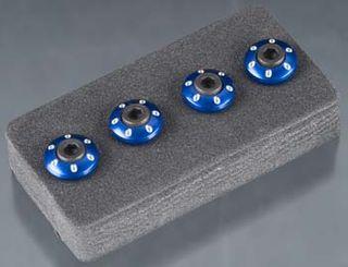 Wheel nut washer blue