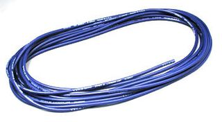 WIRE,'WET NOODLE'12G SILICONE,BLUE 25'1660 STRAND HI-COND V.FLEXIBLE
