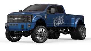CEN RACING 1:10 FORD F450 SD CUSTOM TRUCK SOLID AXLE RTR BLUE