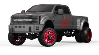 CEN RACING 1:10 FORD F450 SD CUSTOM TRUCK SOLID AXLE RTR GREY