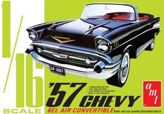 AMT 1:16 1957 Chevy Bel Air Convertible