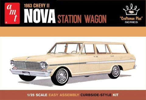 AMT 1:25 1963 Chevy II Nova Station Wagon