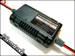 NOVATECH NICAD/NiMH CHARGER. 12-15vDC INPUT 4-7 CELL .2 TO 4A SEE NOTE