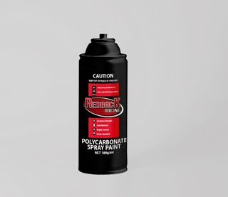 PAINT, P.CARB,TRANS. SILVER, 180ML SPRY