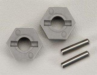 Wheel hubs, hex (tall offset, Rustler/St