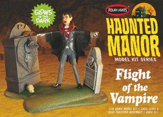 Polar Lights 1:12 Haunted Manor Flightof the Vampire