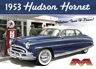 Moebius 1:25 1953 Hudson Hornet (re-issue)