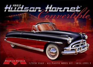 Moebius 1:25 1952 Hudson Hornet Convertible