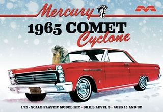 Moebius 1:25 1965 Mercury Comet Cycloneble