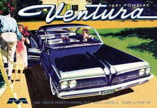 Moebius 1:25 1961 Pontiac Ventura SDble