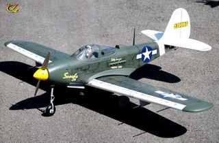 VQ Models P-39 Air Cobra 46 size EP GP