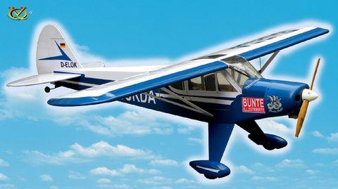 VQ Models Super Cub 46 size EP GP BurdaVersion