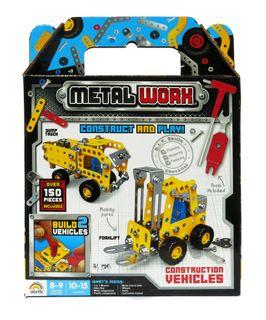 Metal Worx Twin Pk Construction Vehicles