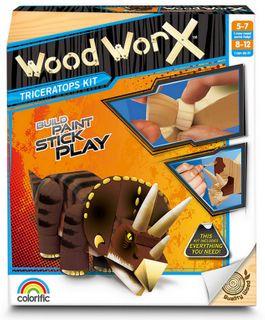 Wood Worx Triceratops Kit