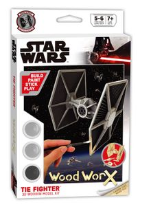 Wood Worx Star Wars Tie Fighter