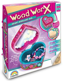 Wood Worx Heart Bling Box Kit