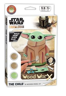 Wood Worx Star Wars The Child
