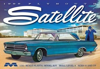 Moebius 1:25 1965 Plymouth Satellitek
