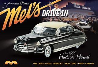 Moebius 1:25 1952 Hudson Hornet Mel's Drive-In