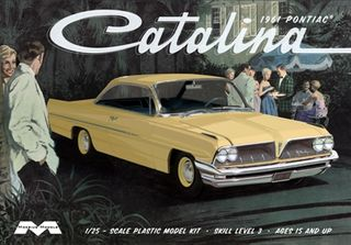 Moebius 1:25 1961 Pontiac Catalinaive-In