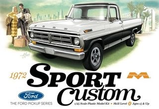 Moebius 1:25 1972 Ford Sport Custom Pickup