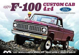 Moebius 1:25 1970 F-100 Ford Custom CabTruck