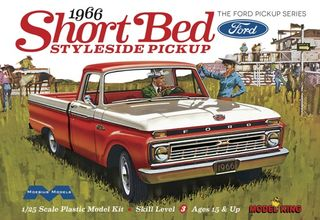 Moebius 1:25 1966 Ford Short Bed Styleside Pickup