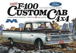 Moebius 1:25 1966 Ford F100 Custom Cab 4x4 Truck