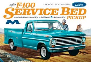 Moebius 1:25 1967 Ford F100 Service BedTruck