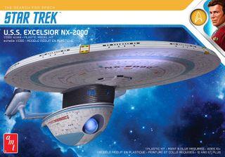 AMT 1:1000 Star Trek U.S.S. Excelsior