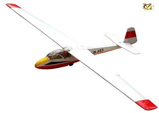 VQ Models KA-7 Glider 2.5M WS Red-White