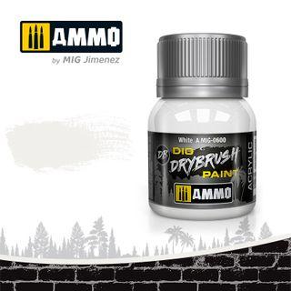 Ammo Paint, Drybrush White 40ml