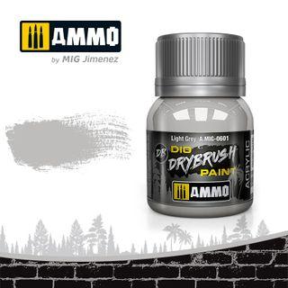 Ammo Paint, Drybrush Light Grey 40ml