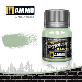 Ammo Paint, Drybrush Bright Green 40ml