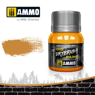 Ammo Paint, Drybrush Light Rust 40ml
