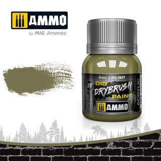 Ammo Paint, Drybrush Green 40ml