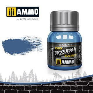 Ammo Paint, Drybrush Blue 40ml