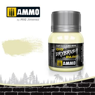 Ammo Paint, Drybrush Light Sand 40ml