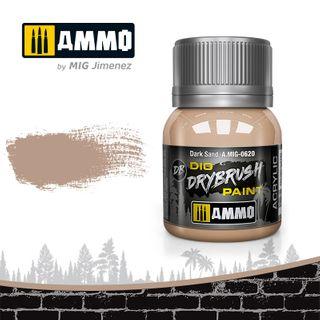 Ammo Paint, Drybrush Dark Sand 40ml