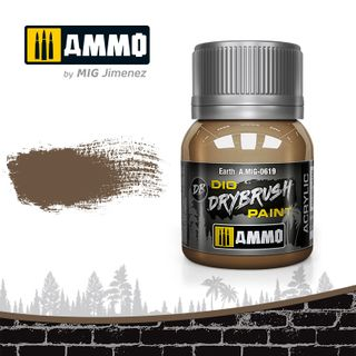 Ammo Paint, Drybrush Earth 40ml