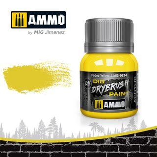 Ammo Paint, Drybrush Faded Yellow 40ml