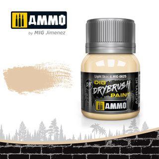 Ammo Paint, Drybrush Light Skin 40ml