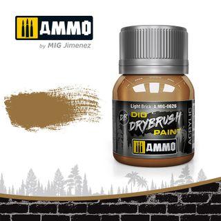 Ammo Paint, Drybrush Light Brick 40ml