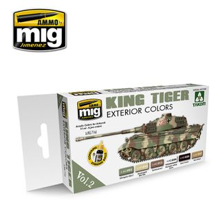Ammo Paint, King Tiger Exterior Colour (Special Takom Edition) Vol.2 S