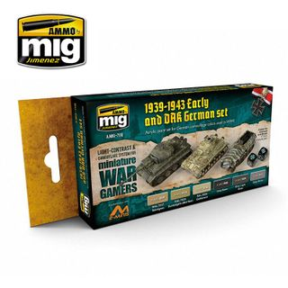 Ammo Paint, Wargame Early And Dak GermanSet