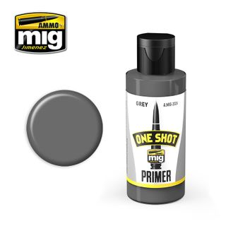 Ammo Paint, One Shot Primer - Grey 60ml
