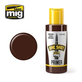 Ammo Paint, One Shot Primer - Brown Oxide Primer 60ml