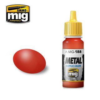 Ammo Paint, Metallic Red 17ml