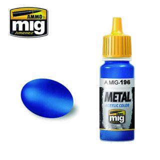Ammo Paint, Warhead Metallic Blue 17ml